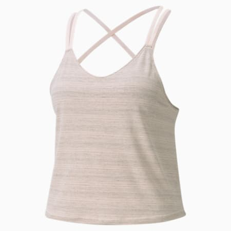 Studio Graphene Strappy Women's Training Tank Top, Cloud Pink, small-IND