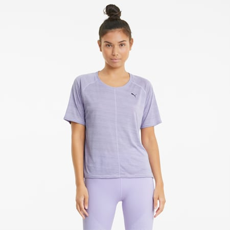 T-shirt de sport en graphène Relaxed Fit Studio femme, Light Lavender, small