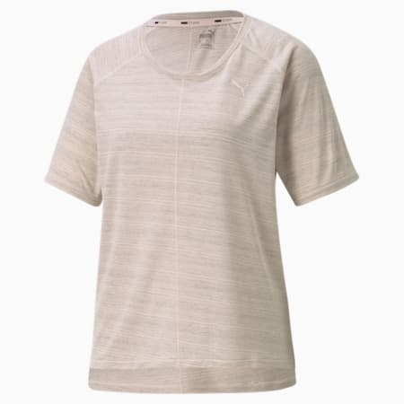 Studio Graphene Relaxed Fit Women's Training Tee, Cloud Pink, small-SEA