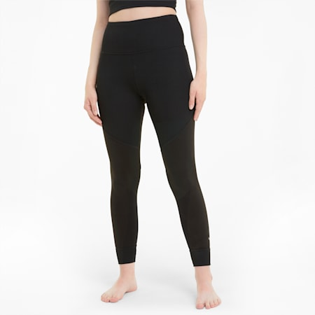 Leggings7/8Studiocon cintura alta para mujer, Puma Black, pequeño
