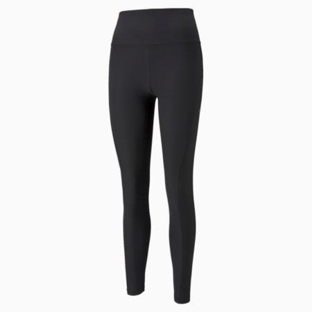 Studio Yogini Luxe High Waist 7/8 Women's Training Leggings, Puma Black, small-SEA