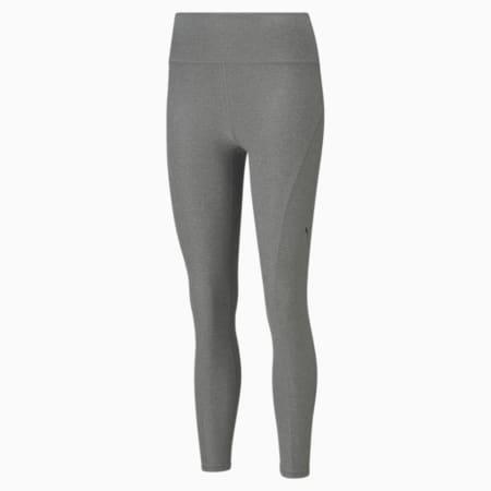Studio Yogini Luxe High Waist 7/8 Women's Training Leggings, Medium Gray Heather, small-GBR