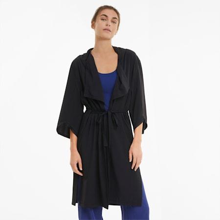 Studio Woven Flow Women's Training Jacket, Puma Black, small-GBR