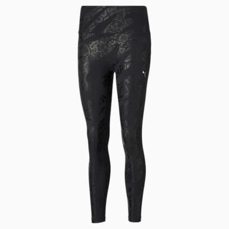 UNTMD Printed 7/8 Women's Training Leggings, Puma Black-print, small