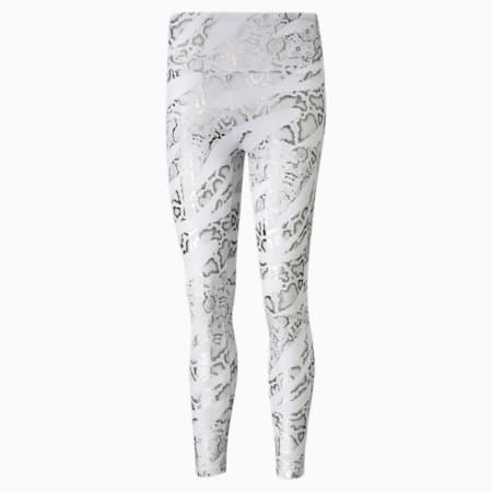 UNTMD Printed 7/8 Women's Training Leggings, Puma White-CASTLEROCK-print, small