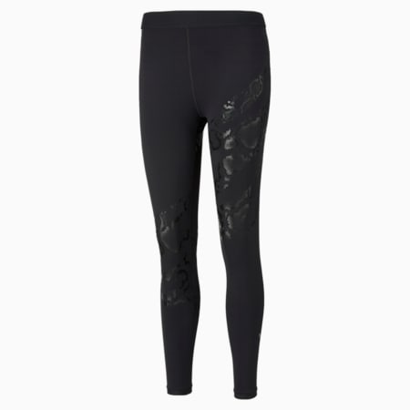 Untamed Printed Women's Training Leggings, Puma Black-print, small-IND