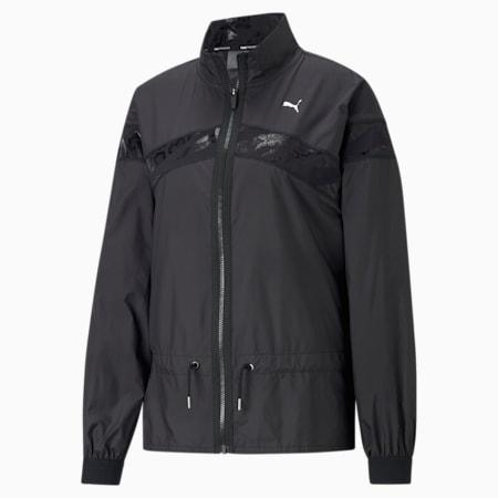 UNTMD Woven Women's Training Jacket, Puma Black, small-GBR