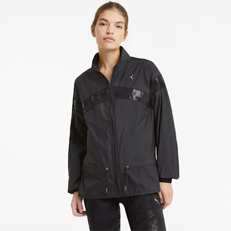 UNTMD Woven Women's Training Jacket, Puma Black, small