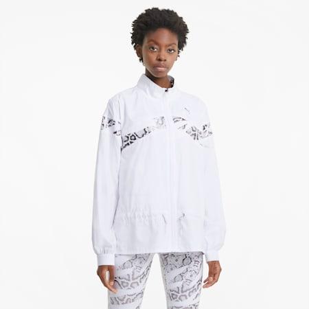 UNTMD Woven Women's Training Jacket, Puma White, small-SEA