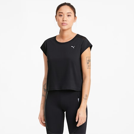 UNTMD Women's Training Tee, Puma Black, small