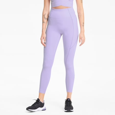 Leggings da allenamento Forever Luxe ellaVATE donna, Light Lavender, small