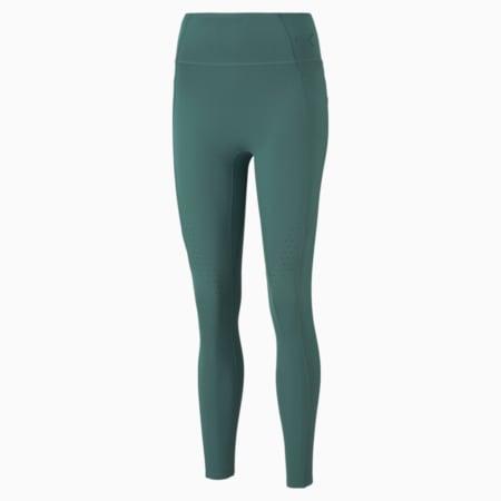 Forever Luxe ellaVATE Women's Training Leggings, Blue Spruce, small