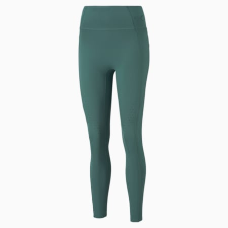 Forever Luxe ellaVATE Women's Training Leggings, Blue Spruce, small-GBR