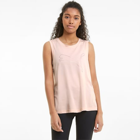 Favourite Cat Muscle Women's Training Tank Top, Cloud Pink, small