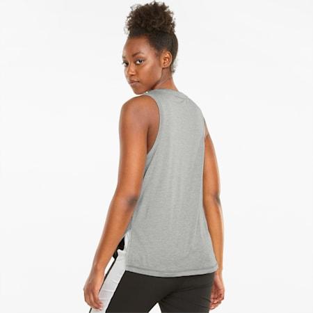 Favourite Cat Muscle Damen Trainings-Tank-Top, Light Gray Heather, small