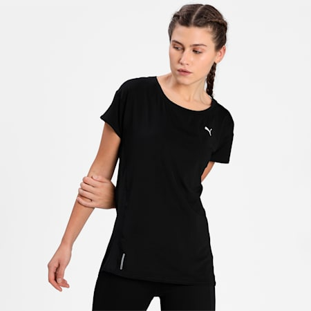 Favourite Women's Training  Relaxed T-Shirt, Puma Black, small-IND