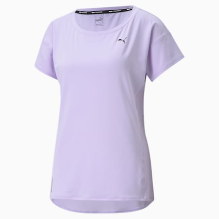 Favourite Women's Training  Relaxed T-Shirt, Light Lavender, small-IND