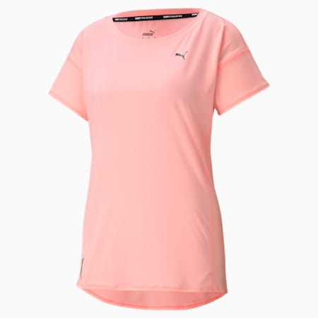 Favourite Women's Training  Relaxed T-Shirt, Elektro Peach, small-IND