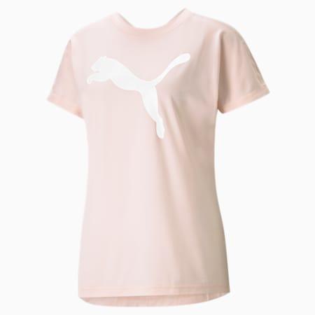 T-shirt de sport en jersey Favourite Cat femme, Cloud Pink, small