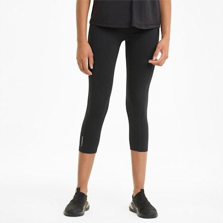 Favourite Forever 3/4 Women's Training Leggings, Puma Black, small-SEA