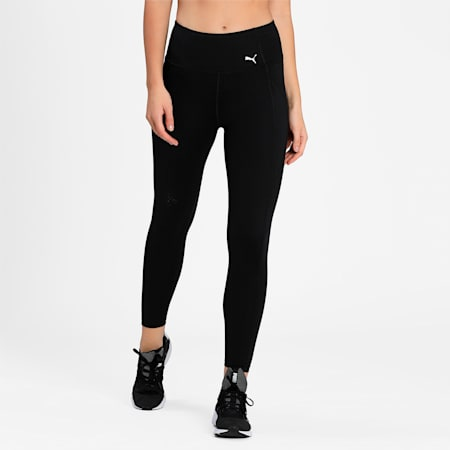 Favourite FOREVER High Waist 7/8 Women's Training Tights, Puma Black, small-IND