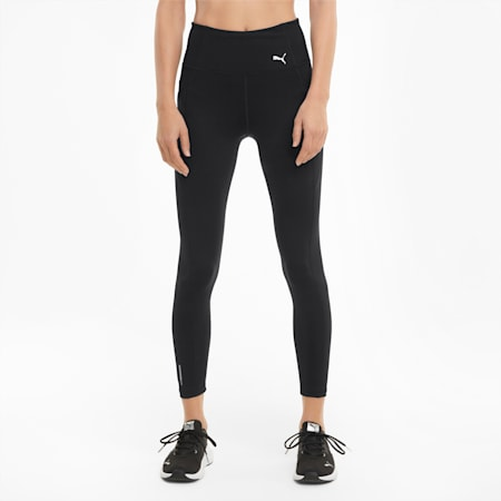 Favourite FOREVER High Waist 7/8 Women's Training Leggings, Puma Black, small-SEA