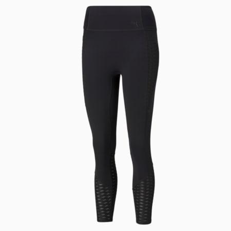 Flawless Women's High Waist 7/8 Training Leggings, Puma Black, small-GBR