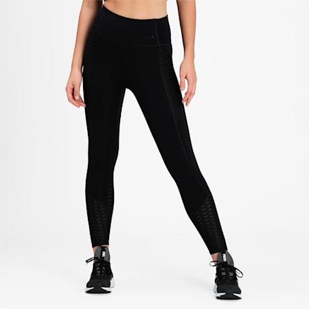Flawless High Waist 7/8 Women's Training  Slim Tights, Puma Black, small-IND
