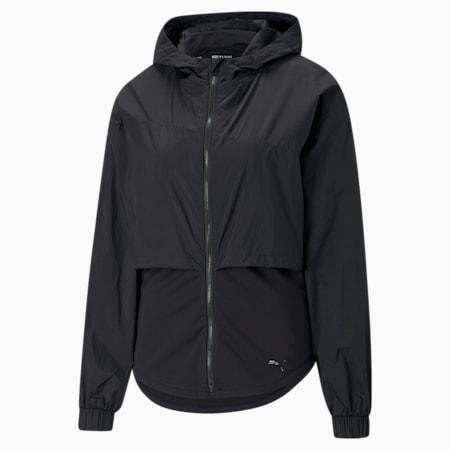 Ultra Women's Hooded Training Jacket, Puma Black, small-SEA