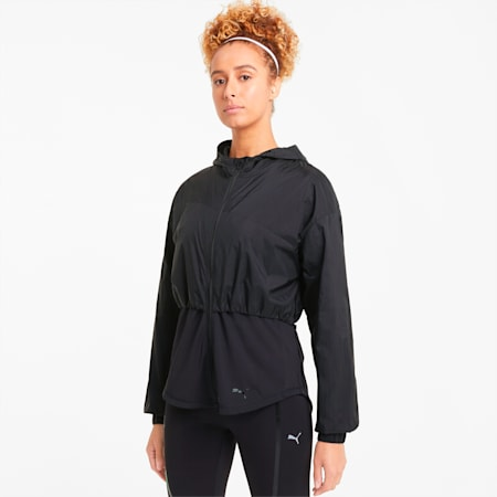 Ultra Women's Hooded Training Jacket, Puma Black, small