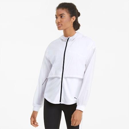 Giacca da allenamento con cappuccio Ultra donna, Puma White, small