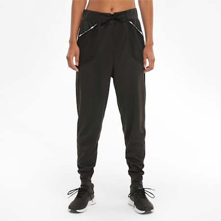 Logo Women's Training Sweatpants, Puma Black, small