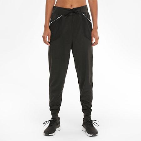 Logo Women's Training Sweatpants, Puma Black, small-GBR