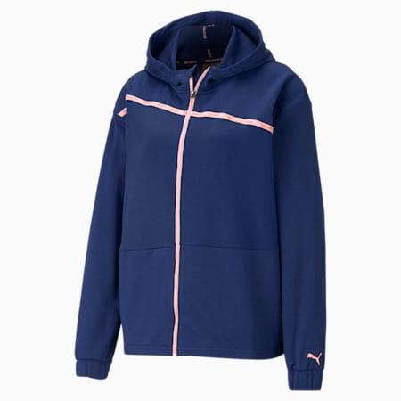 Blouson d'entraînement en tricot Ultra, femme, Bleu Elektro-Bleu brumeux, petit