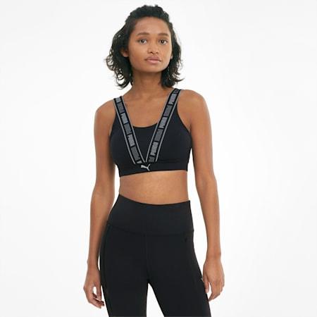 High Impact Fast Damen Sport-BH, Puma Black, small