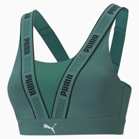 High Impact Fast Women's Training Bra, Blue Spruce, small-IND