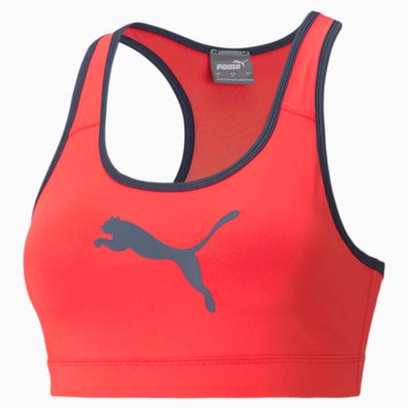 Mid Impact 4Keeps Women's Training Bra, Sunblaze-Spellbound-CAT, small-GBR