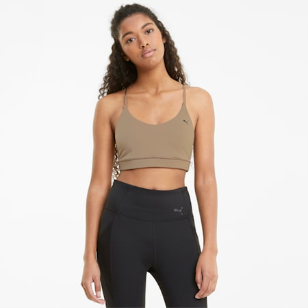 Low Impact Strappy Damen Sport-BH, Amphora, small