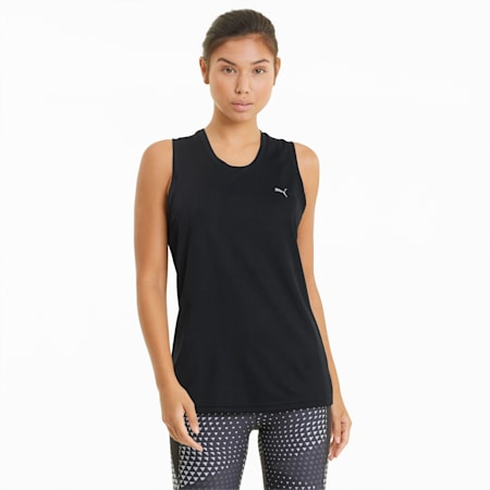 Performance Damen Trainings-Tank-Top, Puma Black, small