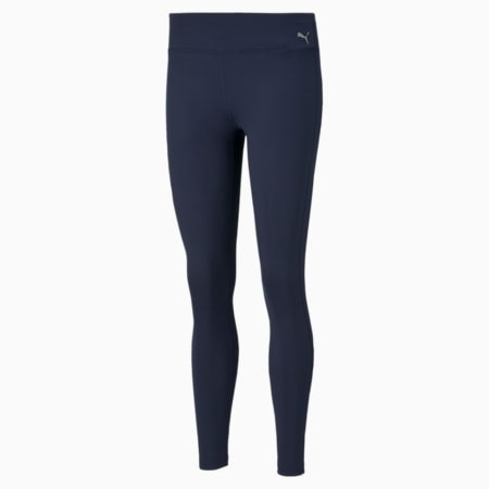 Performance Full-Length Women's Training Tights, Peacoat, small-IND