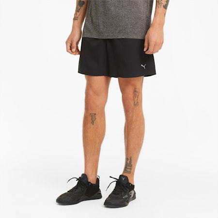 "Performance Woven 5"" Men's Training Shorts, Puma Black, small-IND"