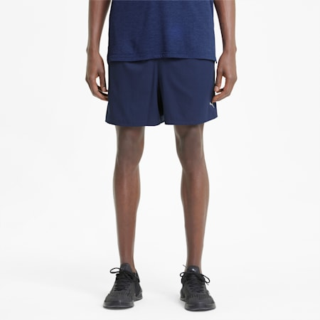 """Performance Woven 5"""" Men's Training Shorts, Peacoat, small-IND"""