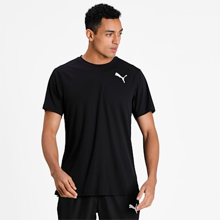 Cross the Line 2.0 Men's Track and Field Performance Fit T-shirt, Puma Black-solid, small-IND