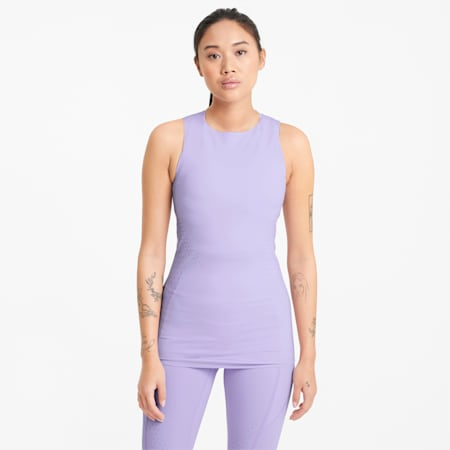 Forever Luxe ellaVATE Women's Training Tank Top, Light Lavender, small-GBR