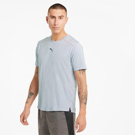 T-shirt da running COOLadapt uomo, Grey Dawn, small