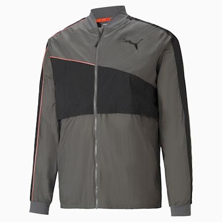 Run Ultra Jacket, CASTLEROCK-Grey Dawn, small