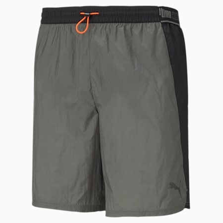 Woven Men's Running Shorts, CASTLEROCK, small-SEA