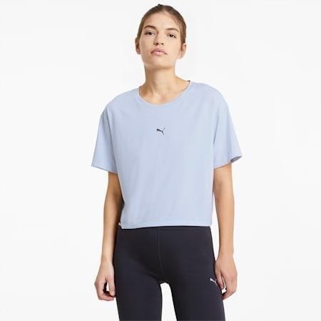 T-shirt da running COOLadapt donna, Grey Dawn, small