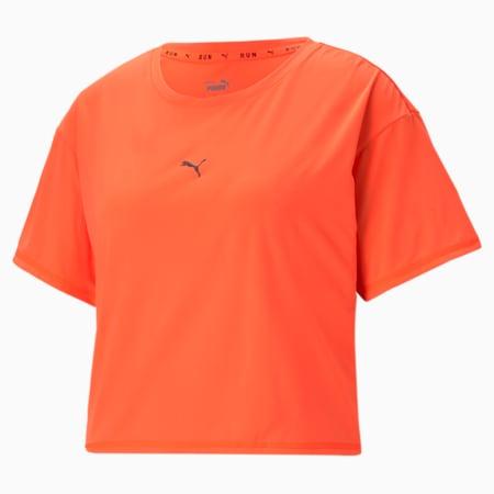 T-shirt de course à pied COOLadapt, femme, Explosion de lave, petit