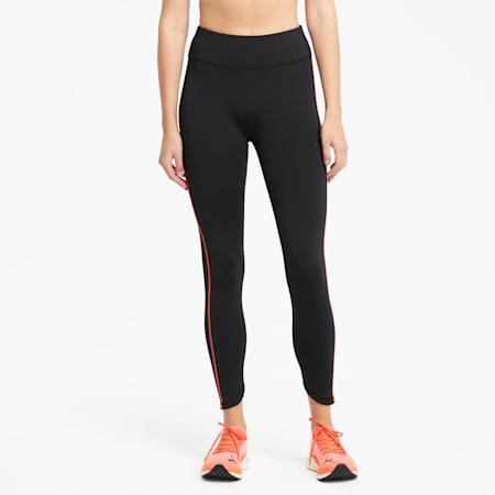 Regular Rise Women's 7/8 Running Leggings, Puma Black, small